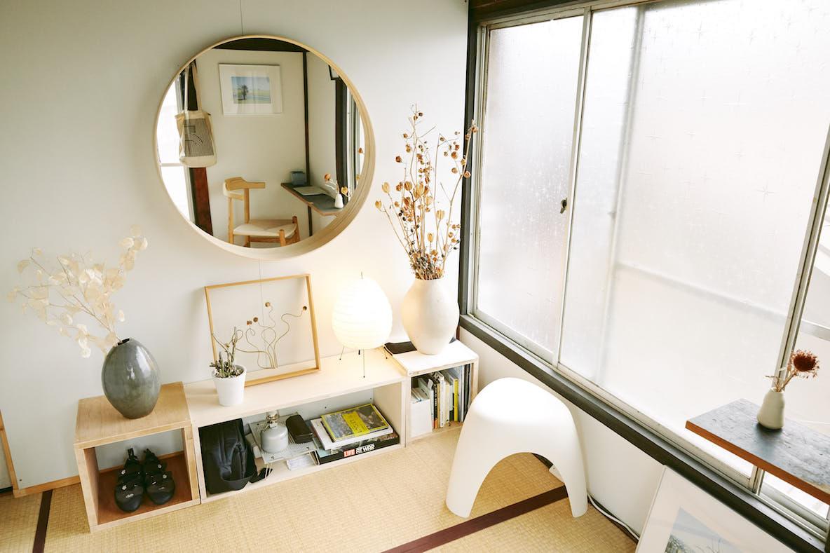 世田谷の築90年古民家にシェアハウスして暮らす男性の部屋