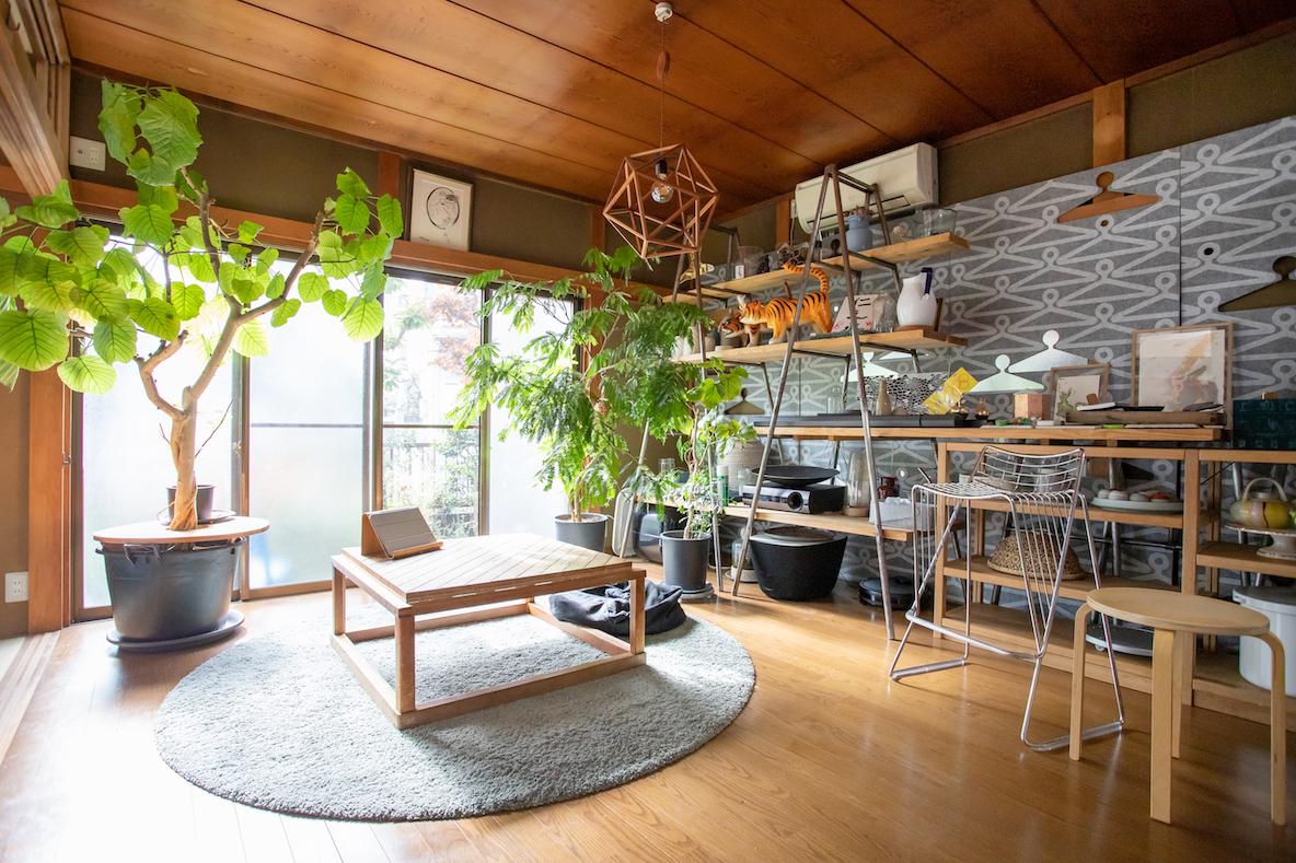 吉祥寺の日本家屋をセルフリノベーションして暮らすファミリーの一軒家