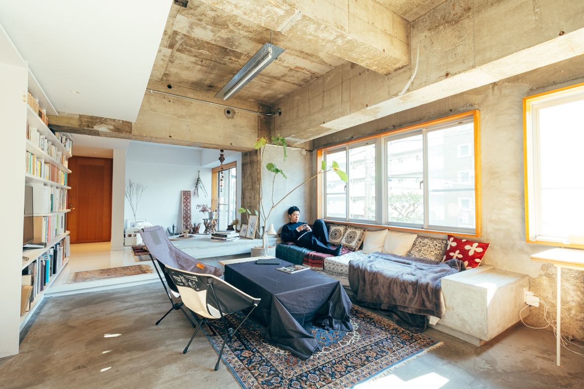 渋谷区に住む建築家の中古マンションリノベーション物件