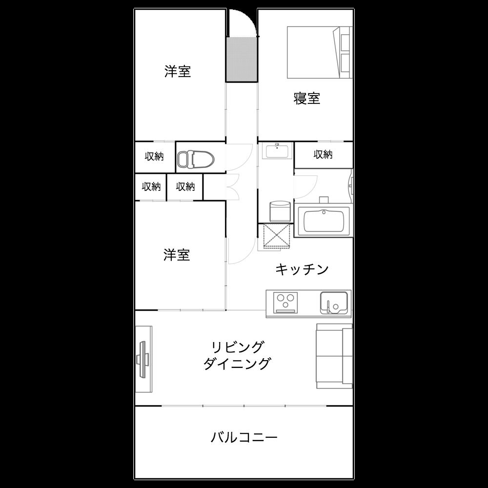 神奈川県藤沢市の3LDK