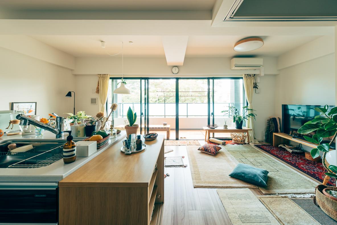 神奈川県藤沢市に住むご夫婦と愛犬の部屋