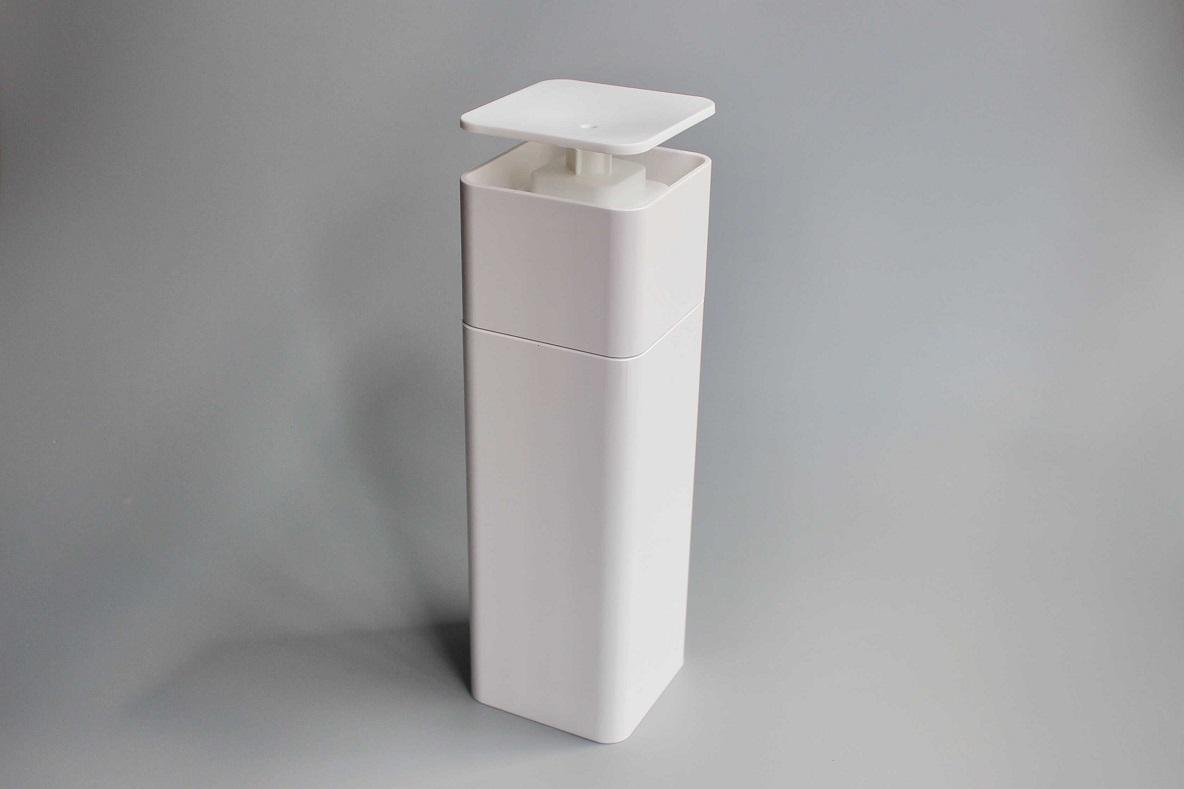 山崎実業の「食器洗剤ディスペンサー」で生活感がゼロに。片手で洗剤を出せるから食器洗いのストレスもなくなるよ|マイ定番スタイル