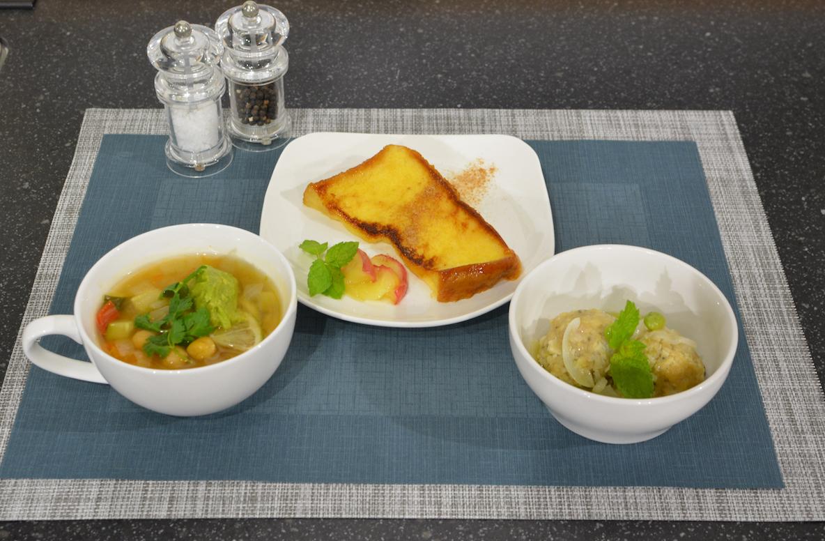 オーブンレンジ「ビストロ NE-UBS5A」とオーブンレンジ「ビストロ NE-UBS5A」でつくった料理