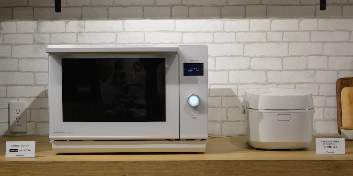 Panasonicの新作調理家電「ライス&クッカー SR-UNX101」とオーブンレンジ「ビストロ NE-UBS5A」