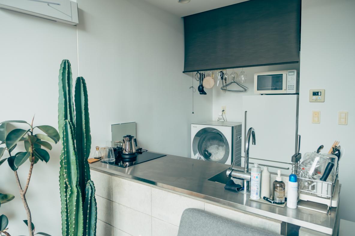 賃貸マンションのキッチン