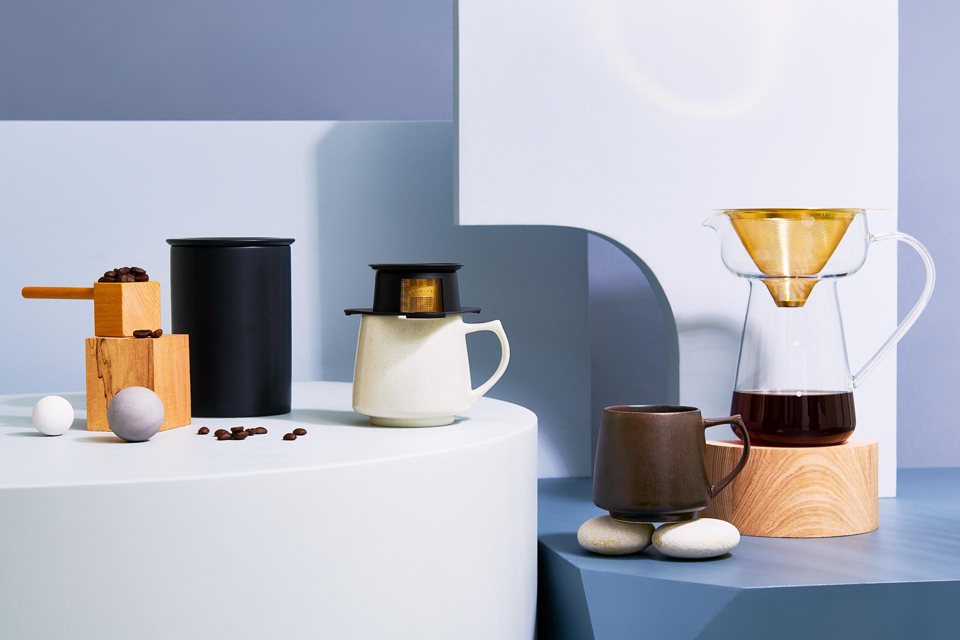 コレスの新作コーヒー器具、かっこよすぎるぞ…! 使うたびに気分が上がりそうだ