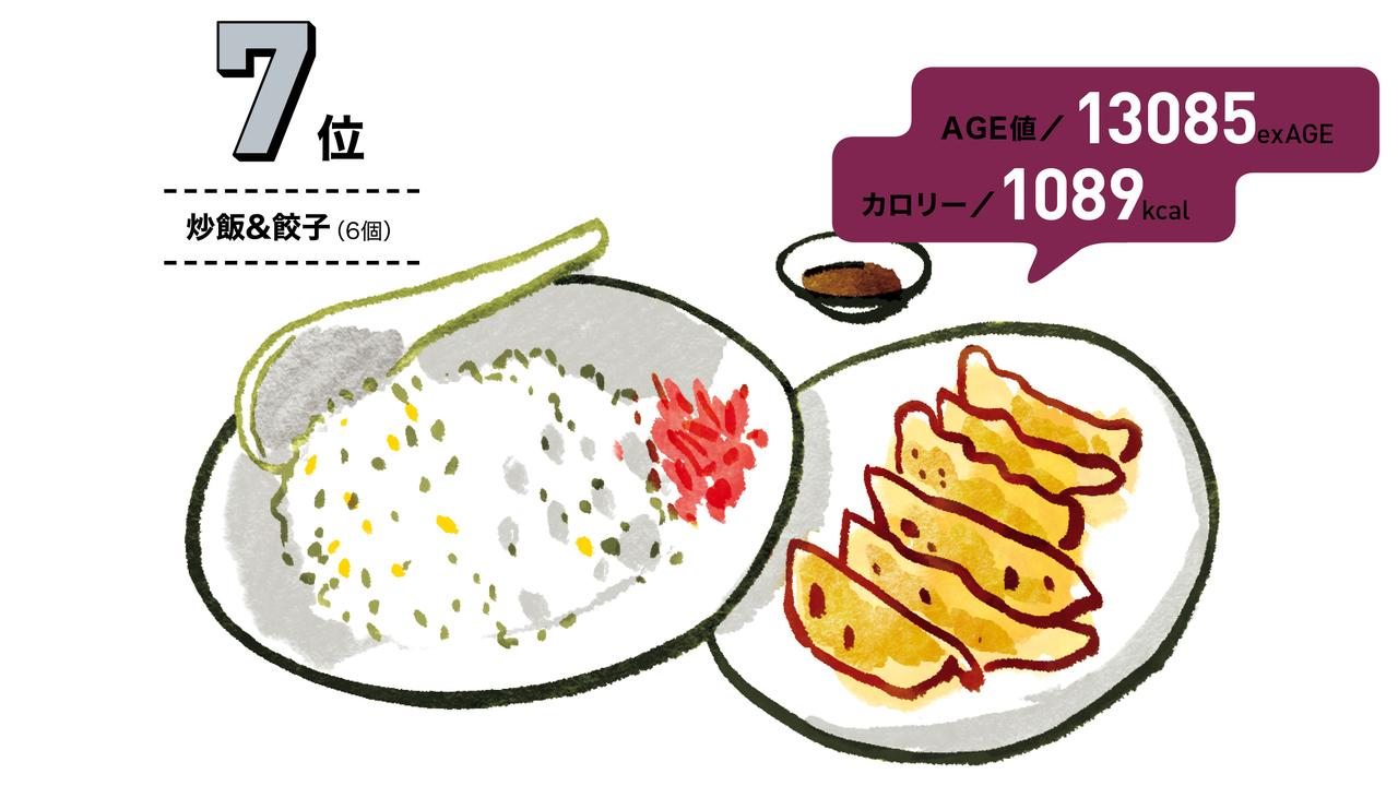 炒飯&餃子