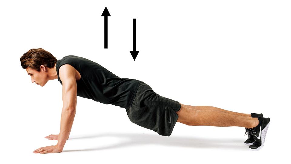 筋肉 体操 腕立て伏せ 3