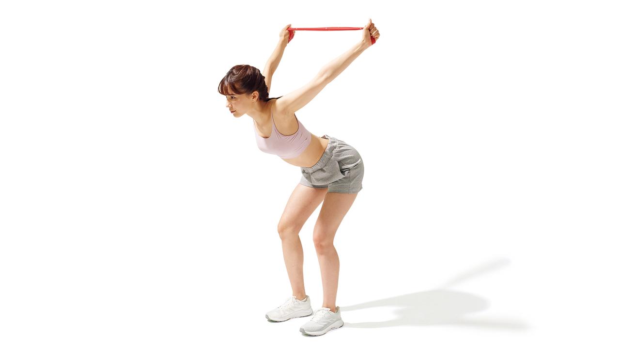 肩甲骨周辺のトレーニング「ショルダー・ローテーション」の動作その2