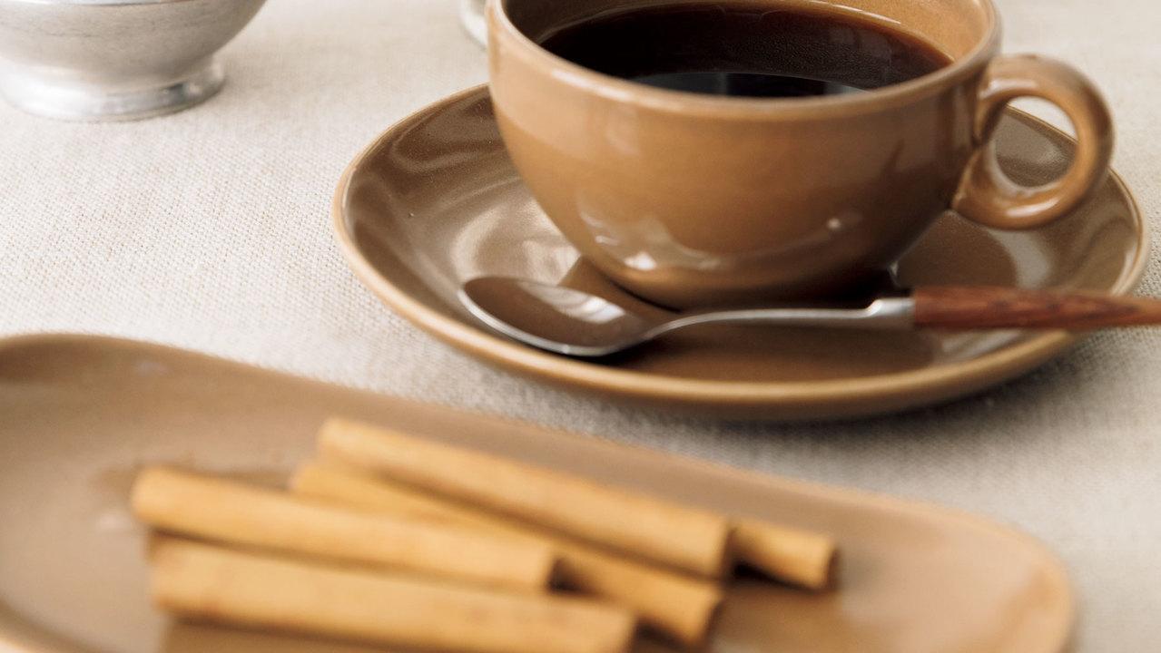 コーヒーとシナモン