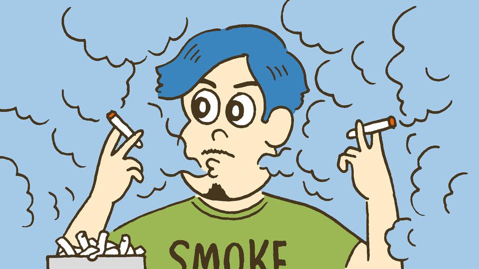 嫌煙の時代にあっても喫煙率が 最も高いのは30代なのだ。