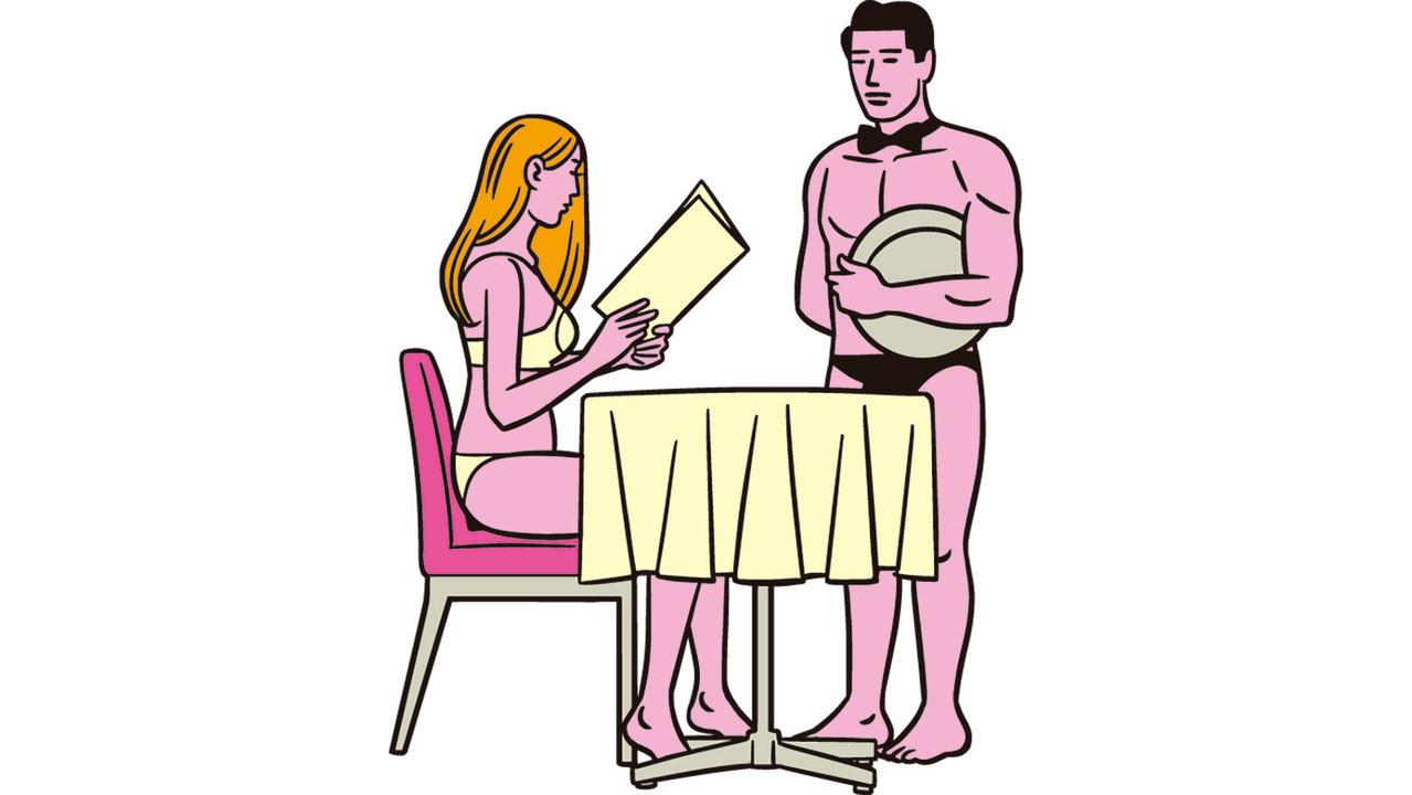 セックスは、フルコース、定食、お茶漬けの3パターンを用意