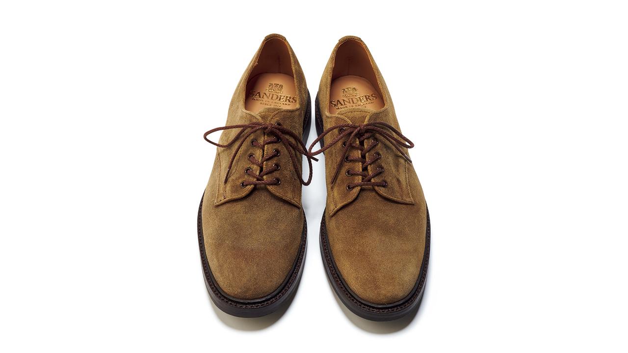 今年の相棒は質実剛健な英国靴に決定