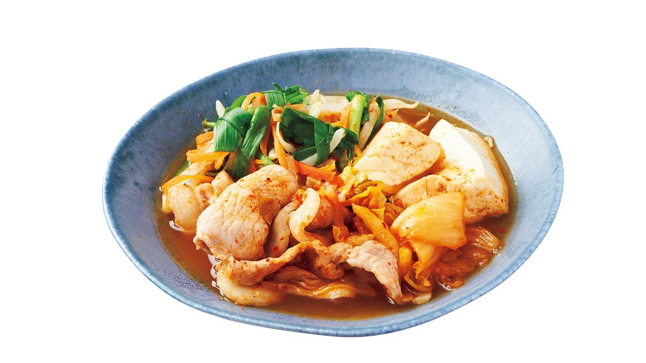 豚キムチ鍋(363kcal)