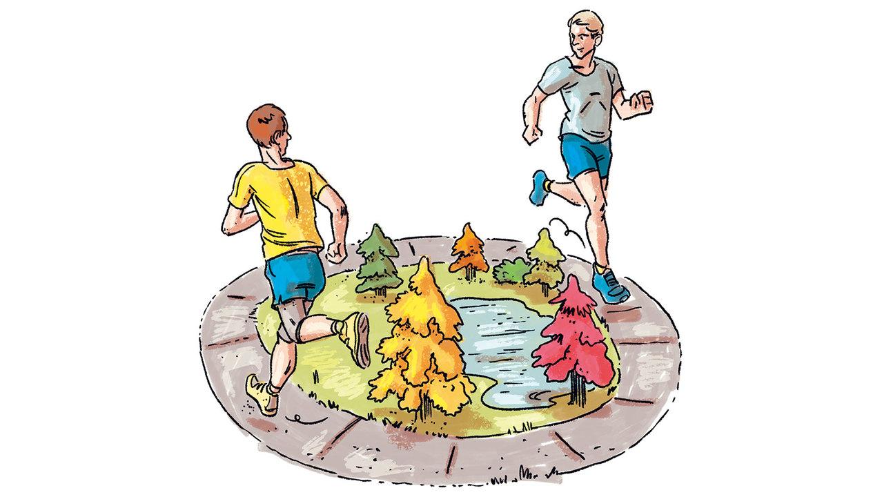 7. 初心者は公園の周回コースを利用すべし
