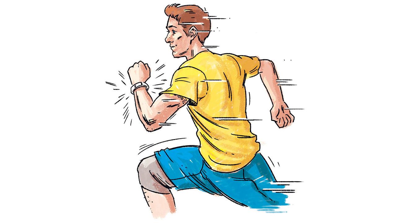 10. 活動量計で心拍数&ペースを確認