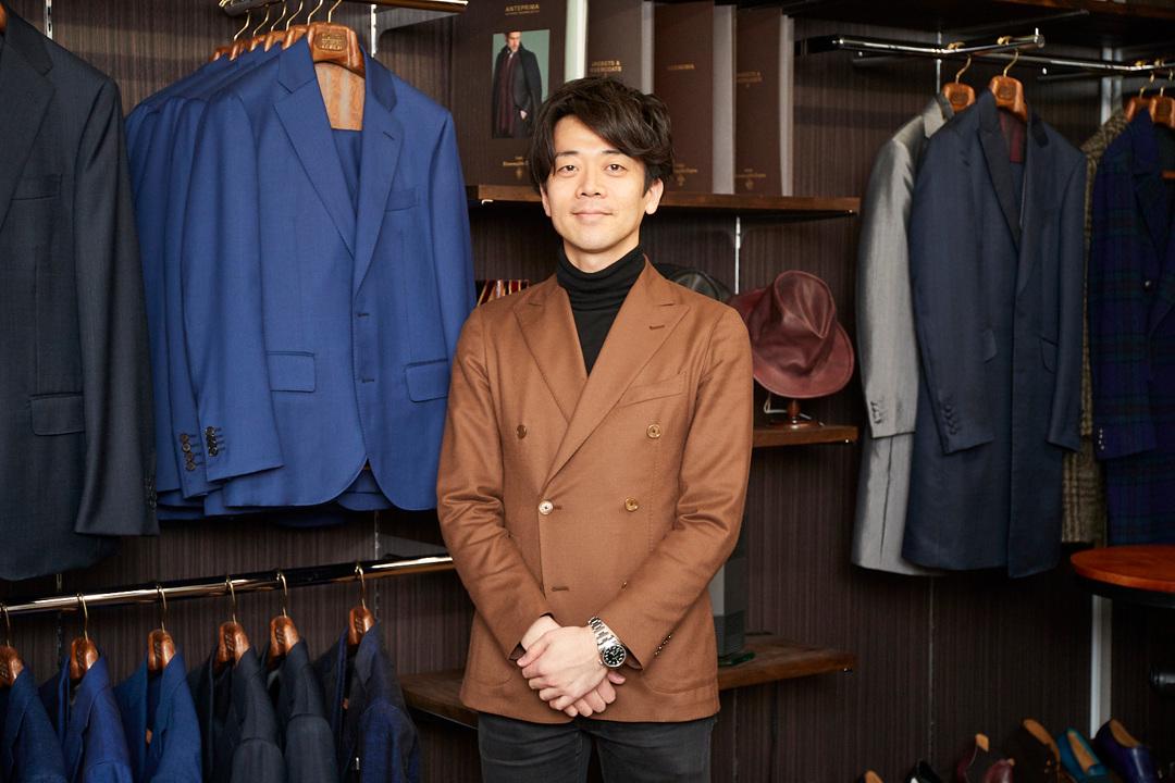 〈ファッションスタイリスト ジャパン〉の吉川浩太郎さん