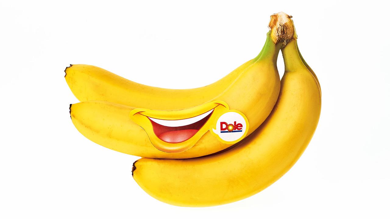 スマイルシール付きバナナが待っている!