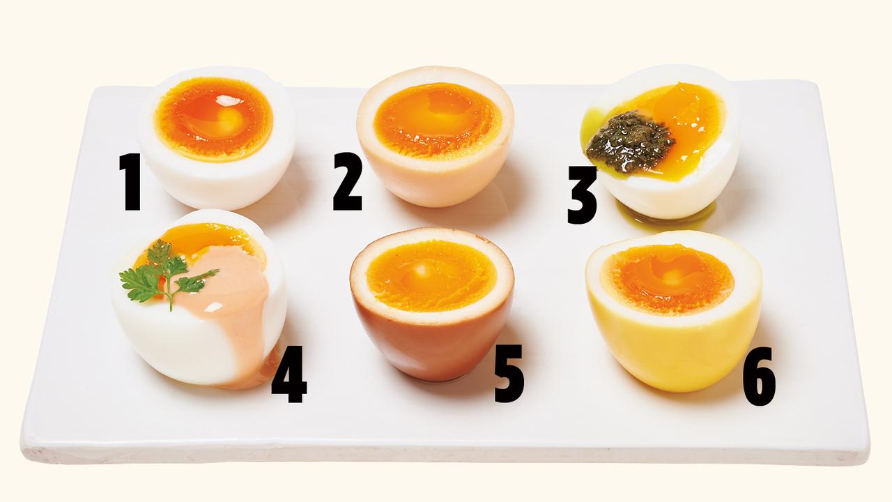 ゆでたまご、6つのアレンジ
