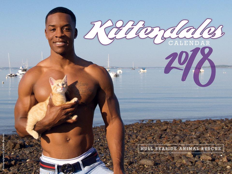 猫とマッチョのカレンダー