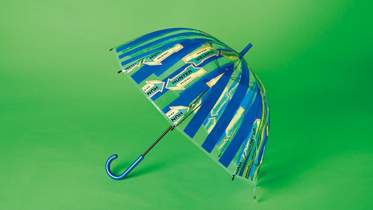 レインブーツでお馴染み〈ハンター〉の傘