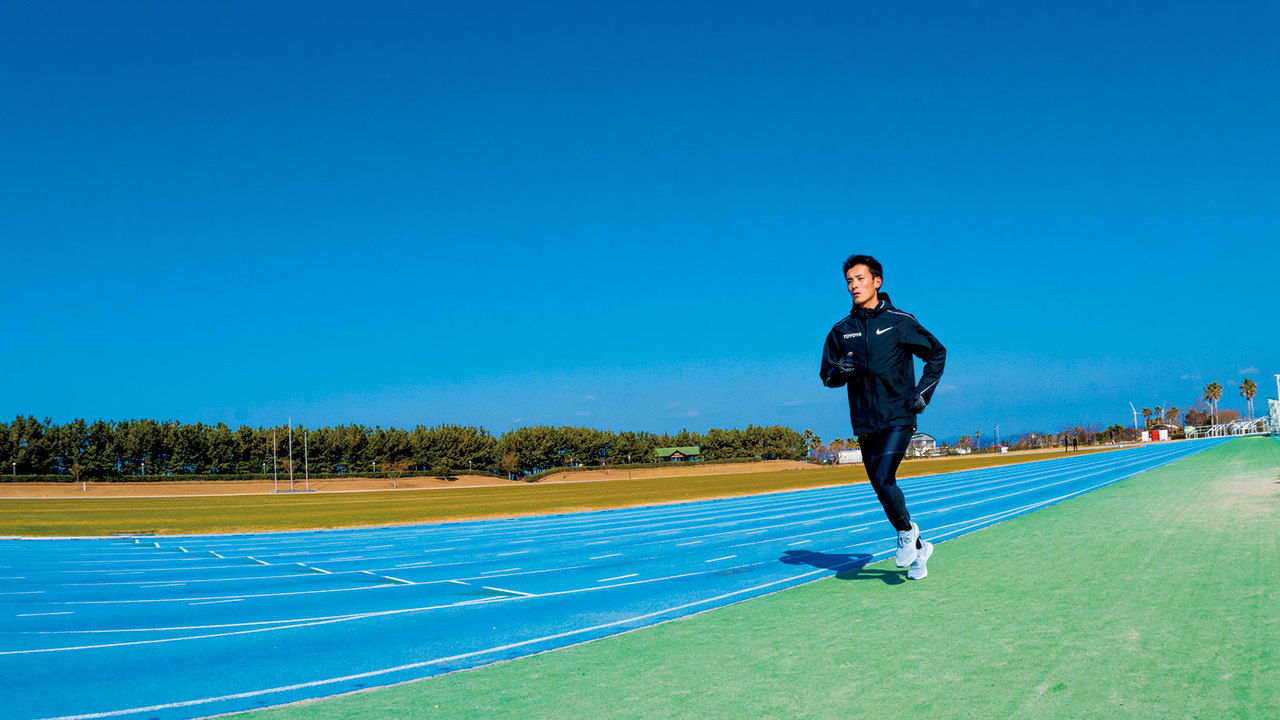 福岡国際マラソンの覇者・服部勇馬