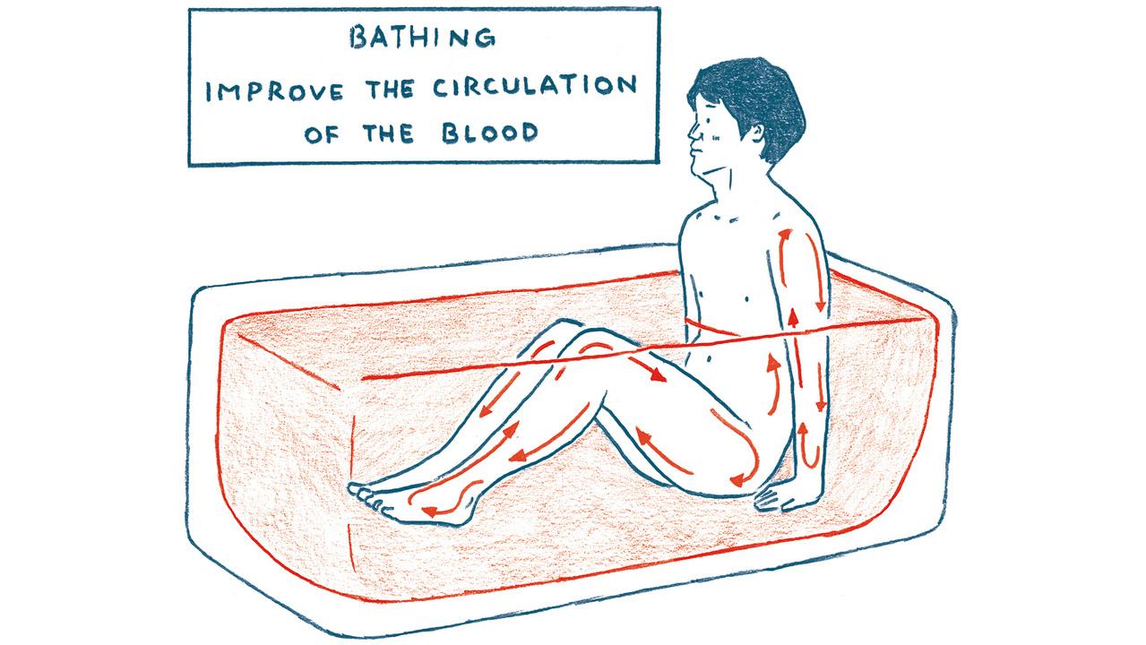 15分ぐらいお風呂に浸かろう
