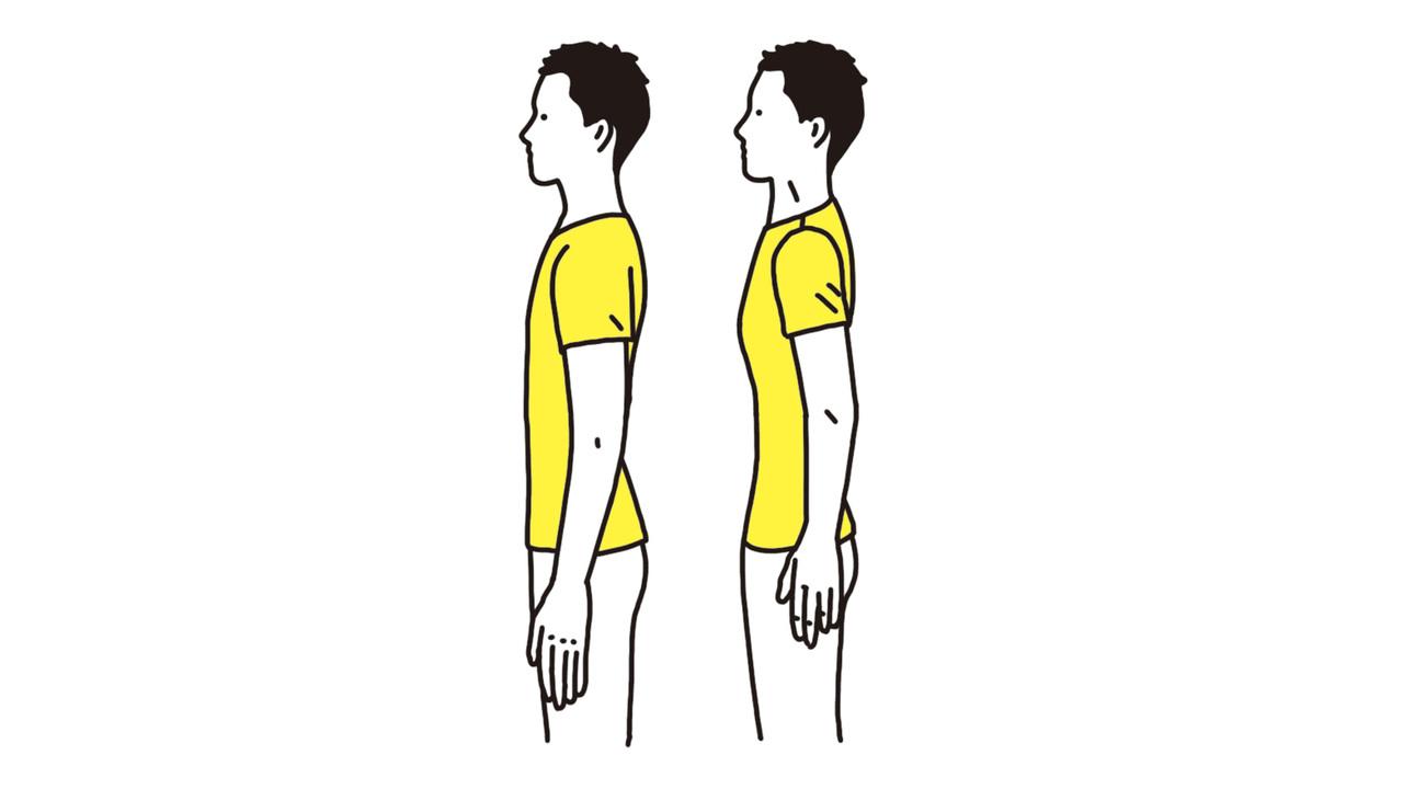 意識/ブレージングで腹の筋肉を総動員。