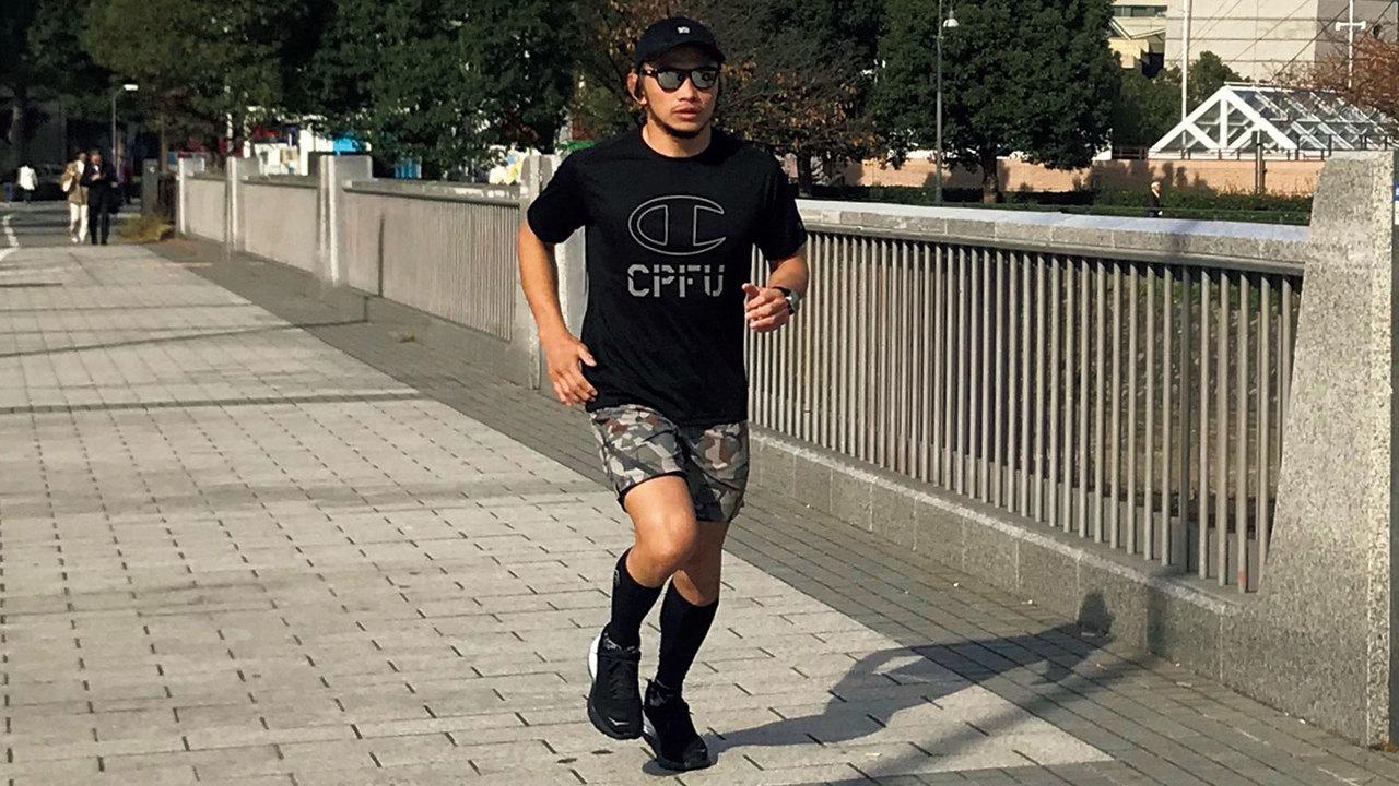 格闘技・宇野薫はコンディショニングのために週3〜4回はランニングをする
