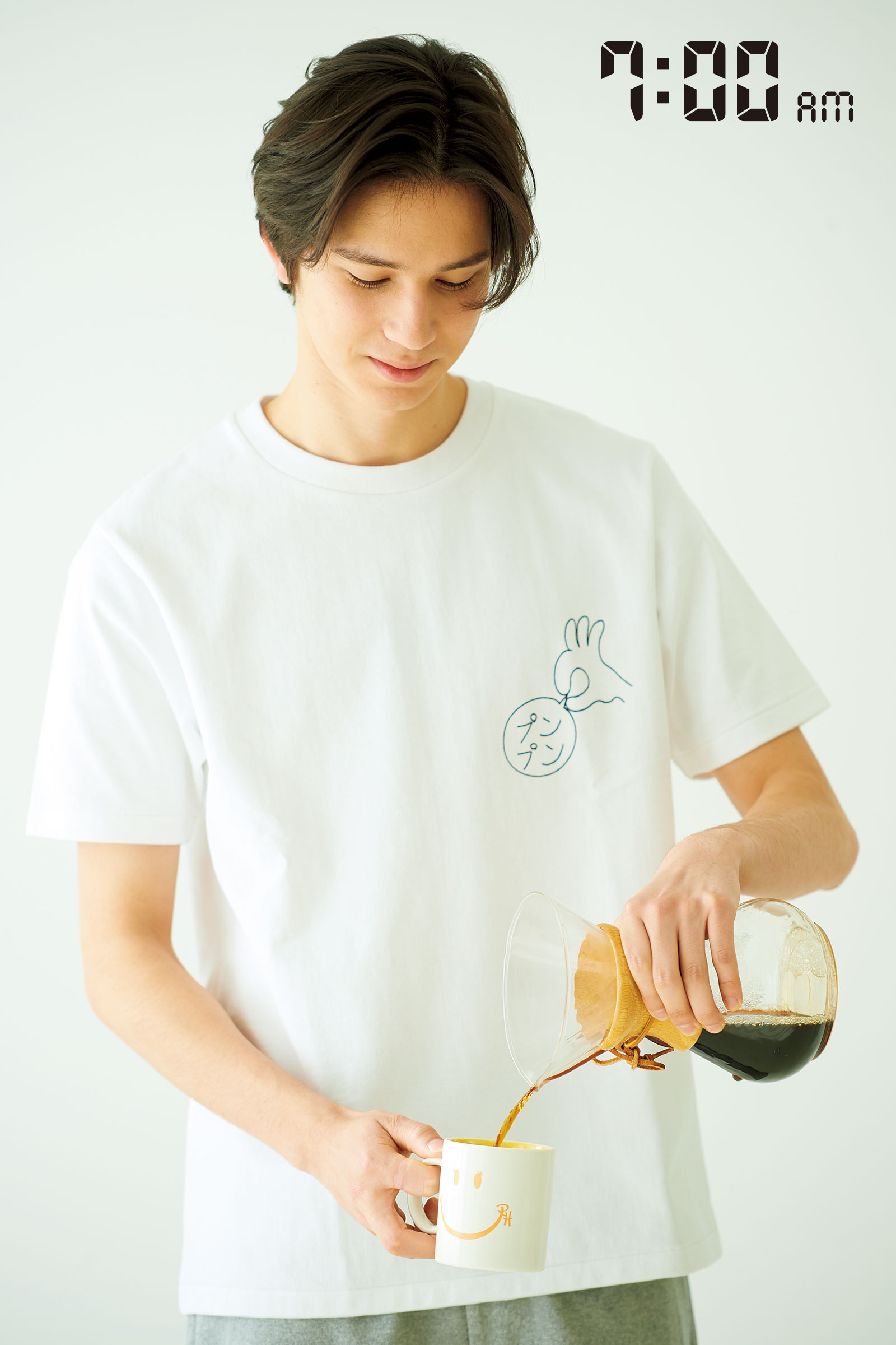 1杯のコーヒーでカラダを覚醒。
