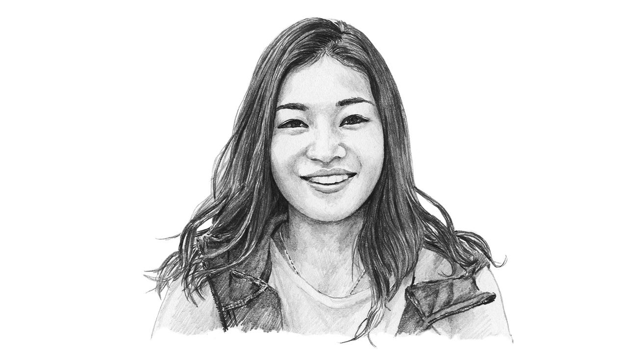近代五種競技・フェンシング選手 才藤歩夢