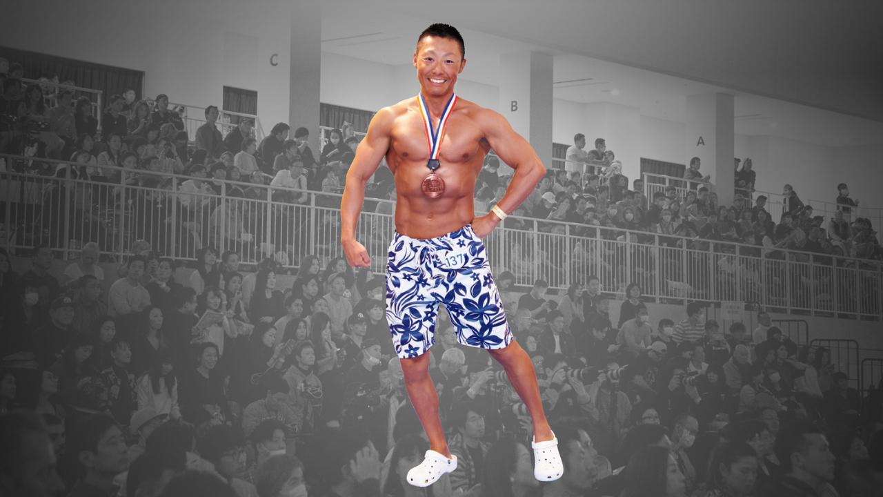 「マッスルコンテスト」フィジークノービスで3位に入賞したダイスケさん