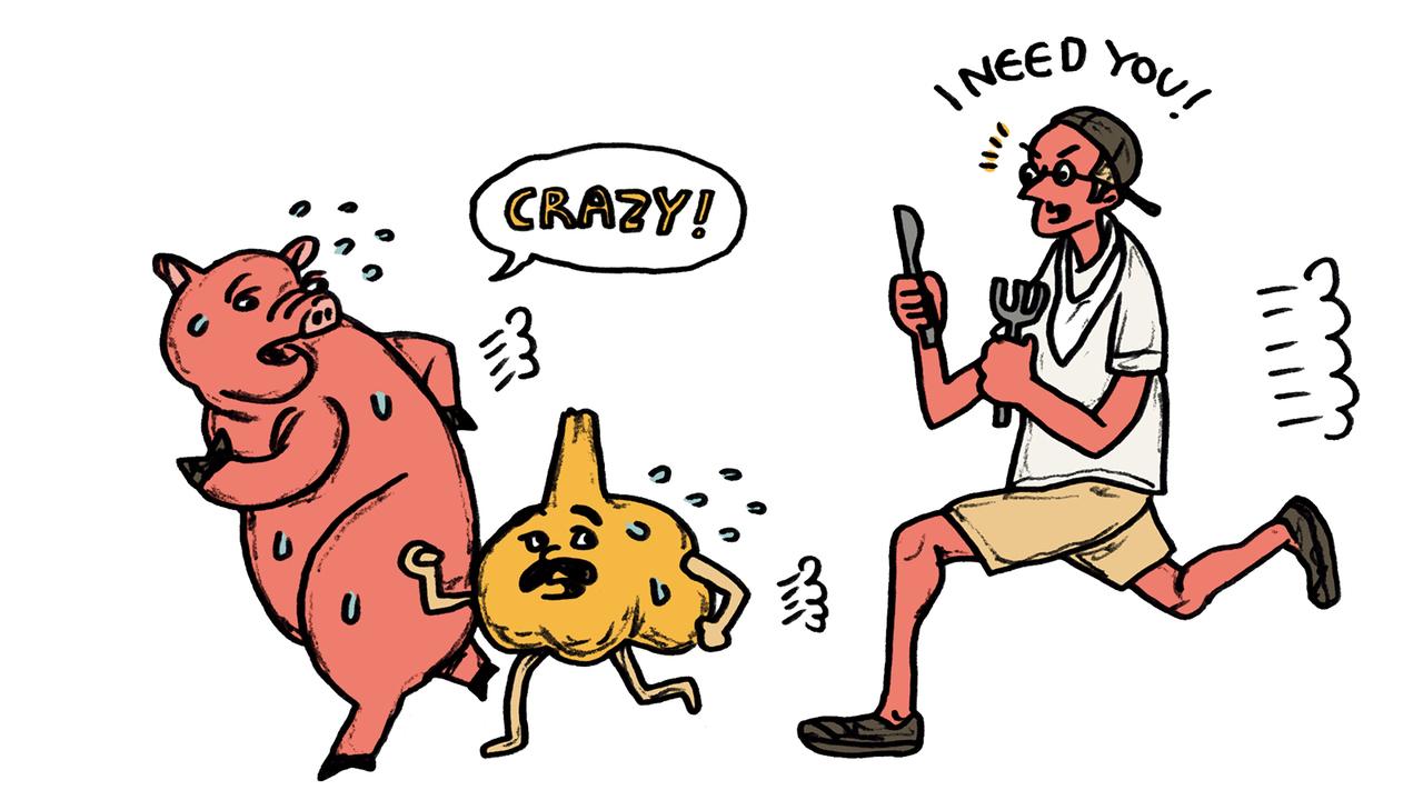 豚肉+ニンニクはホルモン増の最強コンビ