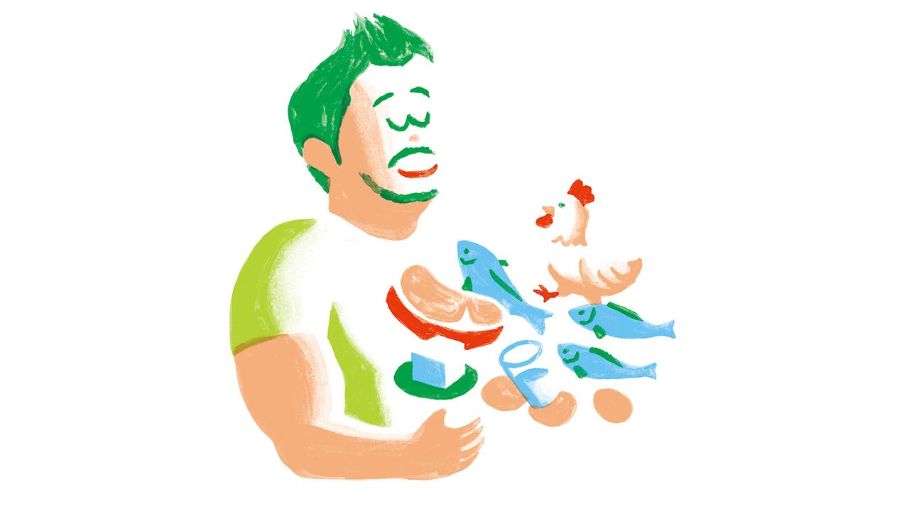 肝心のタンパク質を食事で補うコツ。
