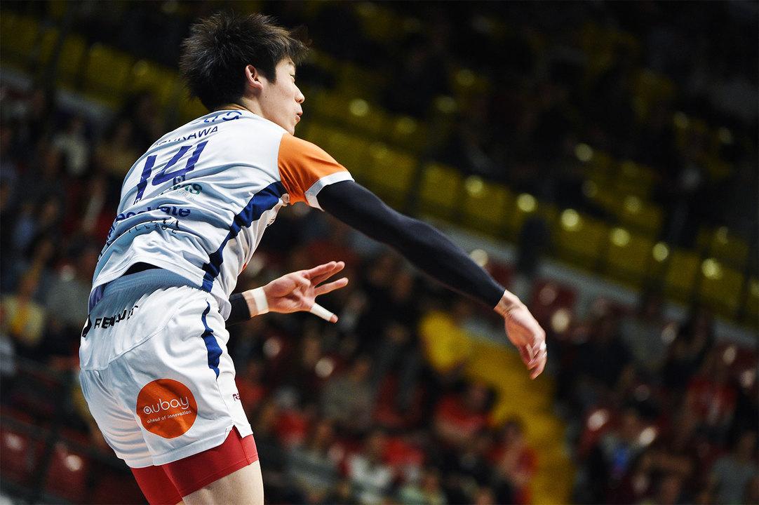 日本とは異なる環境で奮戦した2018-19シーズンの石川選手。