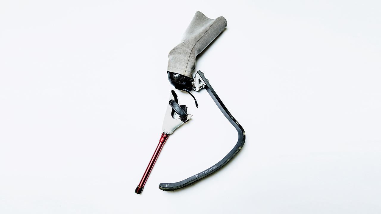 パラ陸上選手・池田樹生の義肢装具