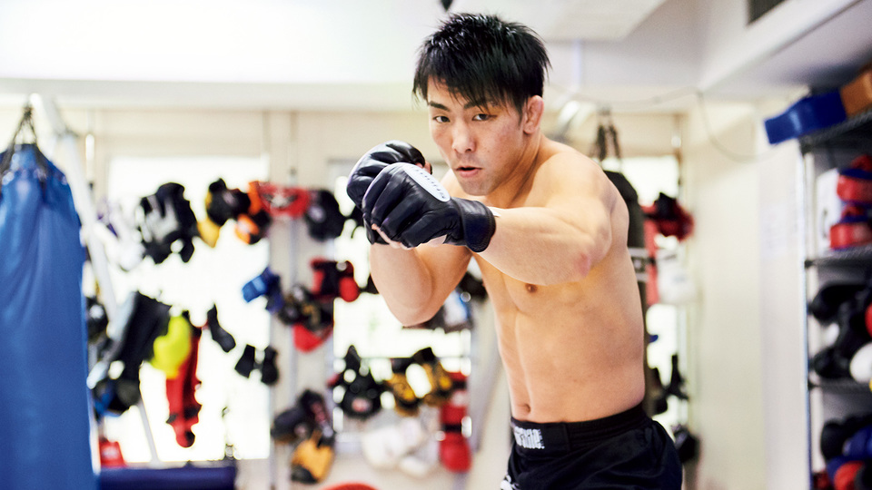 ターザンは見た! 総合格闘家・猿田洋祐のガチトレーニング