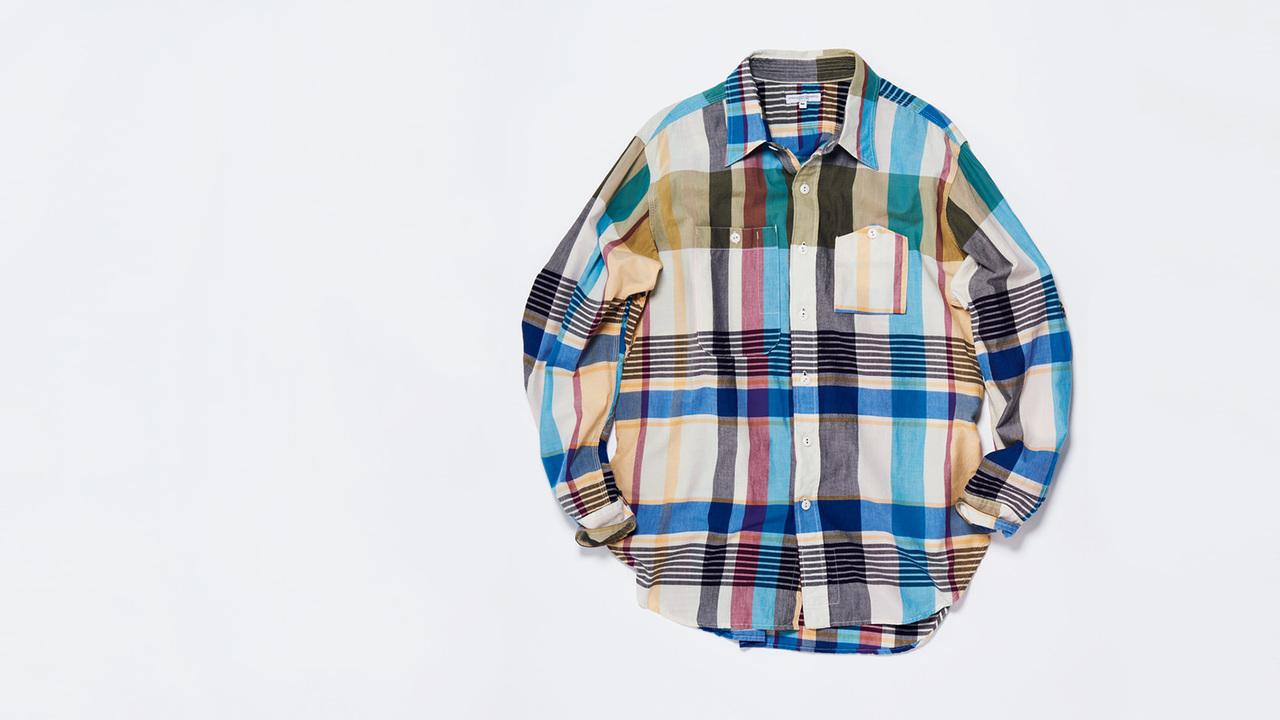 エンジニアド ガーメンツの山ポケシャツ