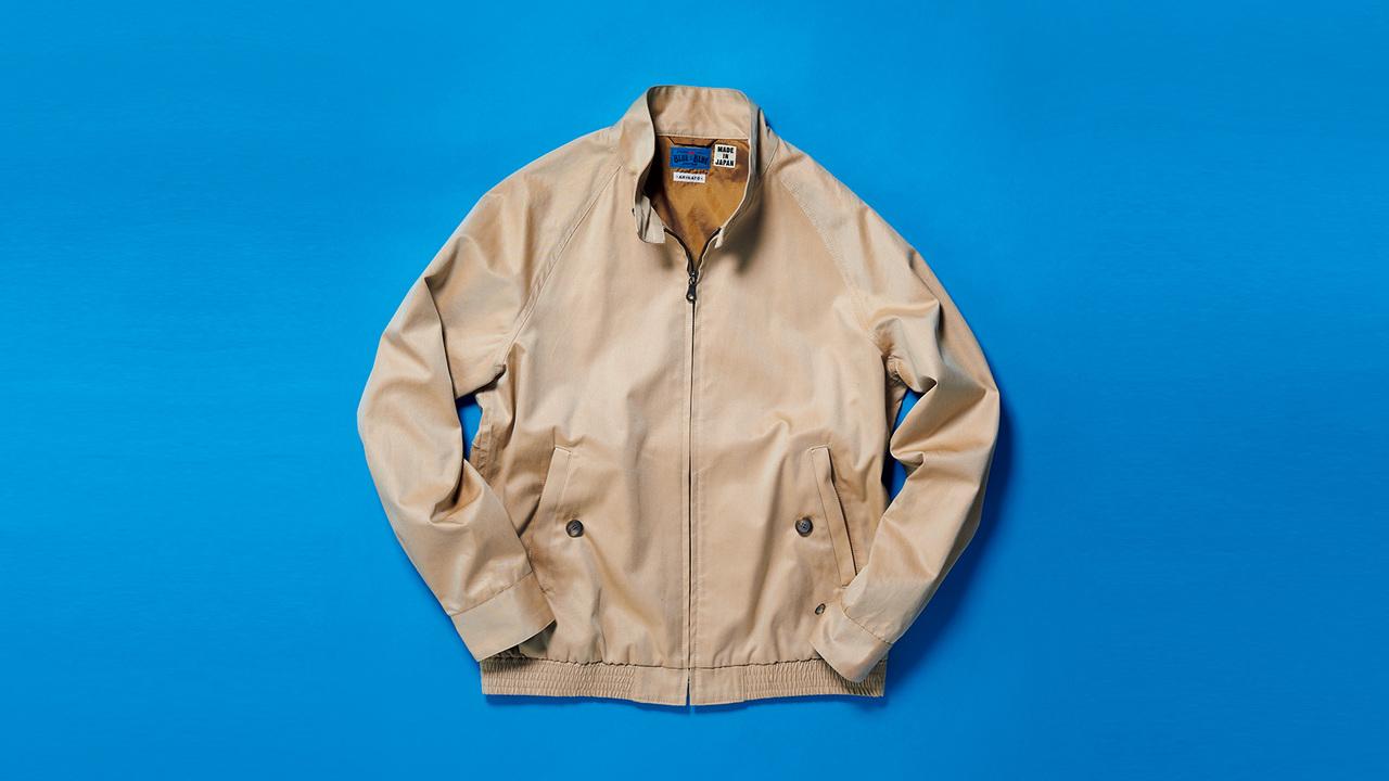 ブルー ブルー ジャパンのハリントンジャケット