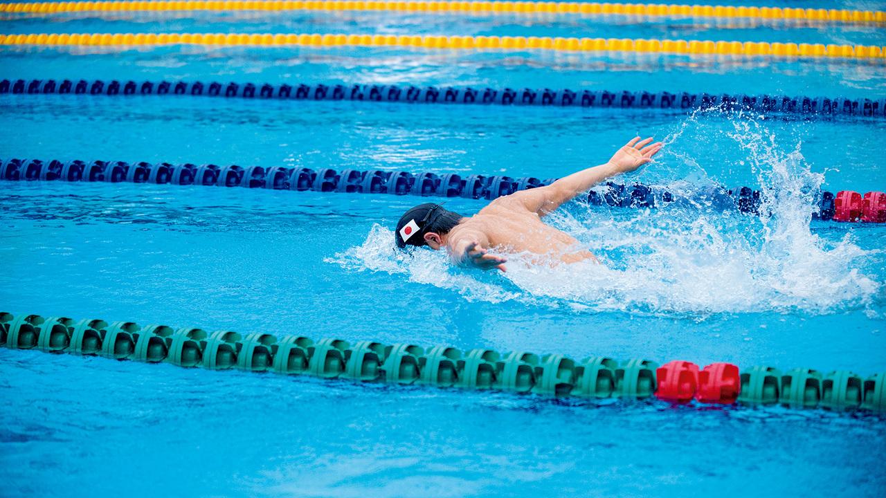 水泳選手・幌村尚
