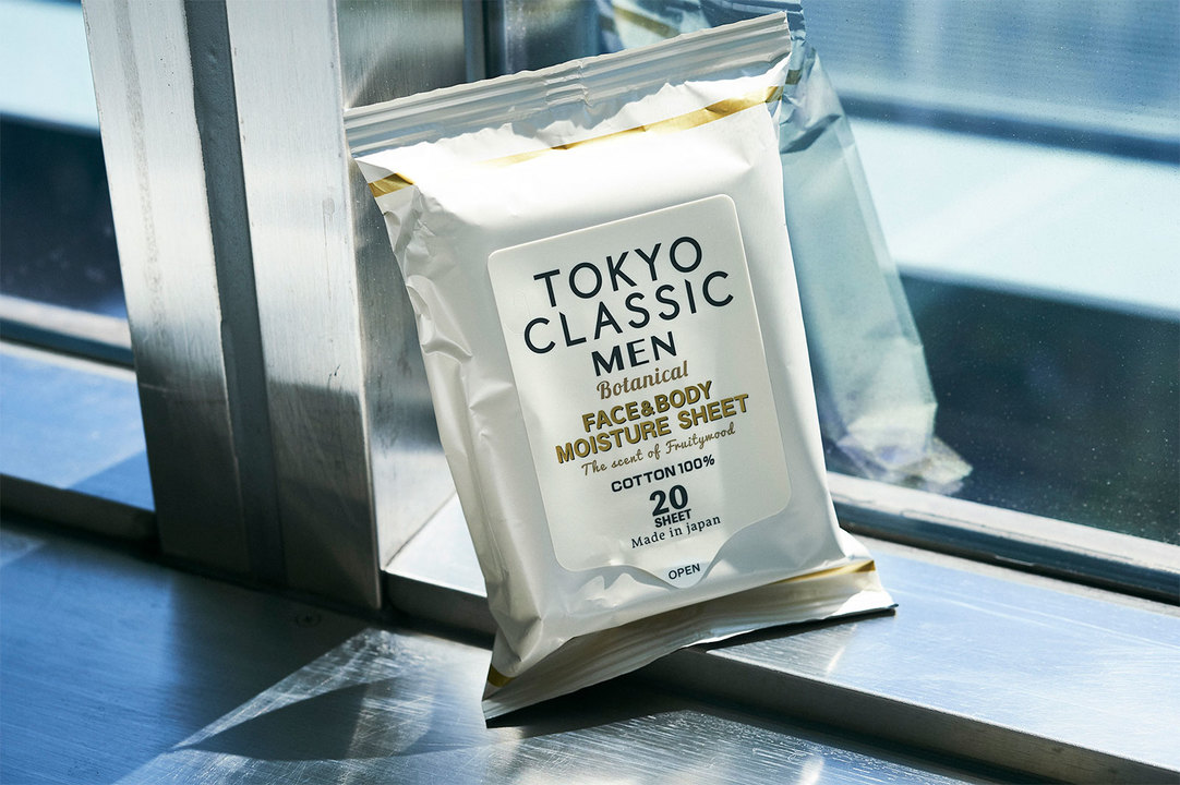 〈TOKYO CLASSIC MEN〉のモイスチャーシート