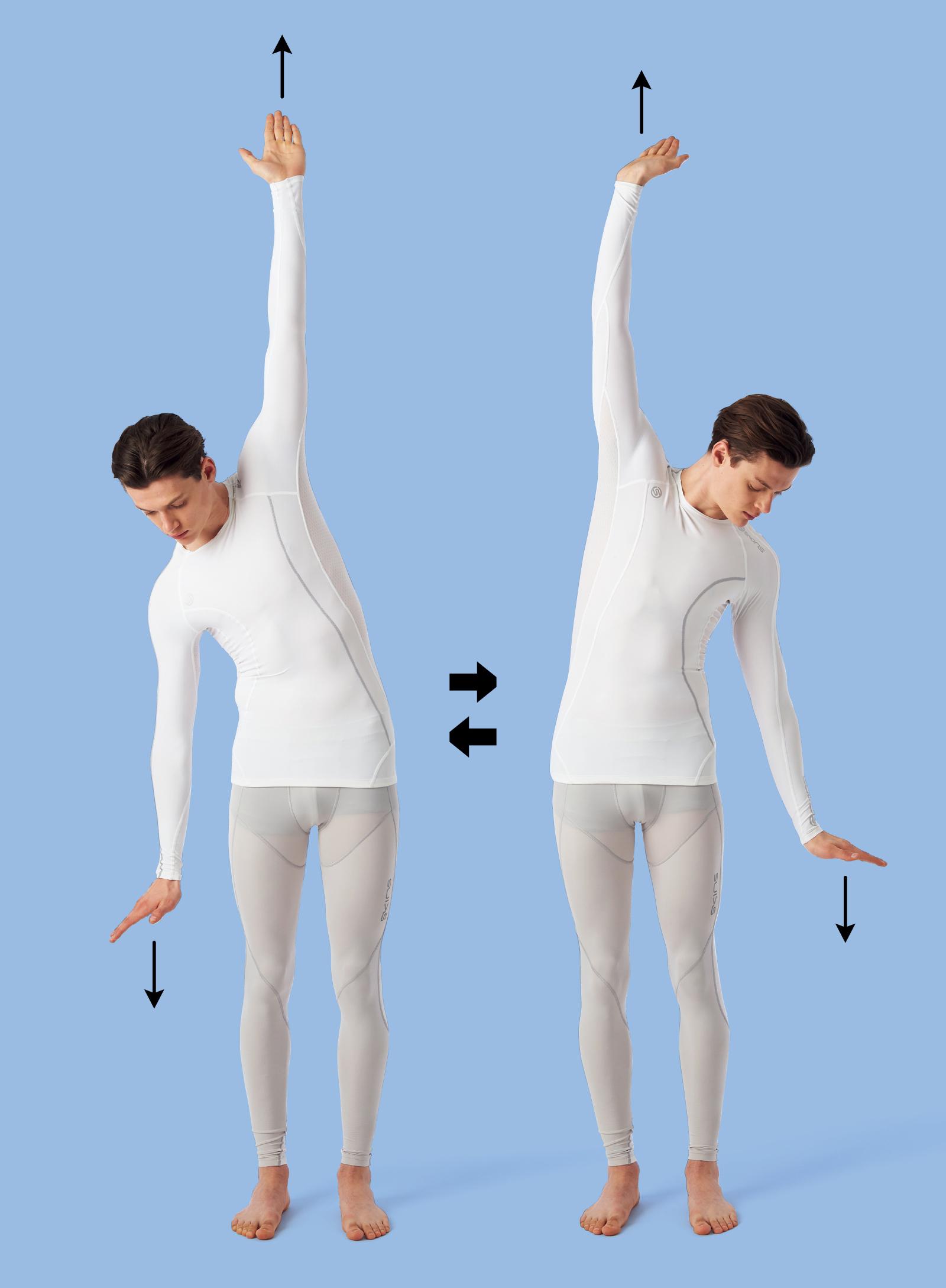 背骨の側屈
