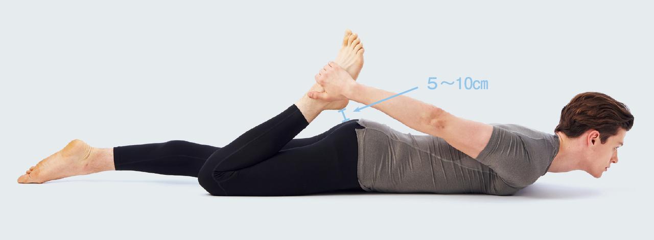 太腿前側のストレッチ