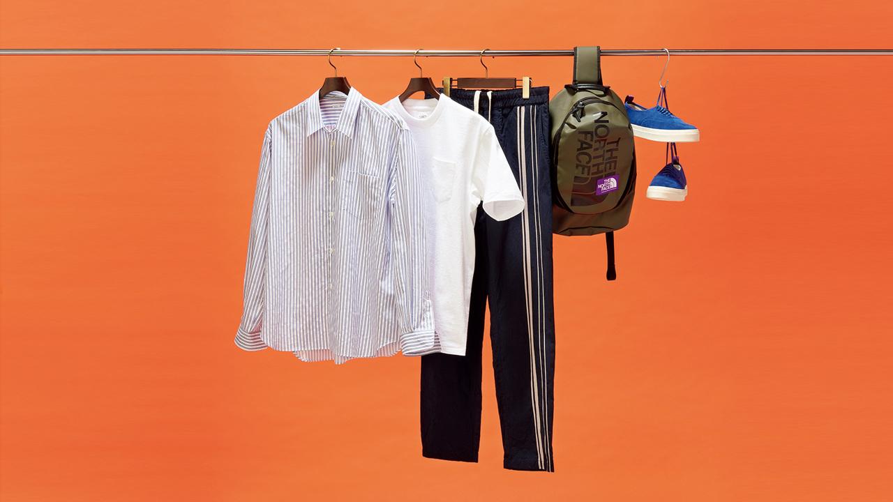 清々しい初夏には、洗いざらしのシャツが着たい