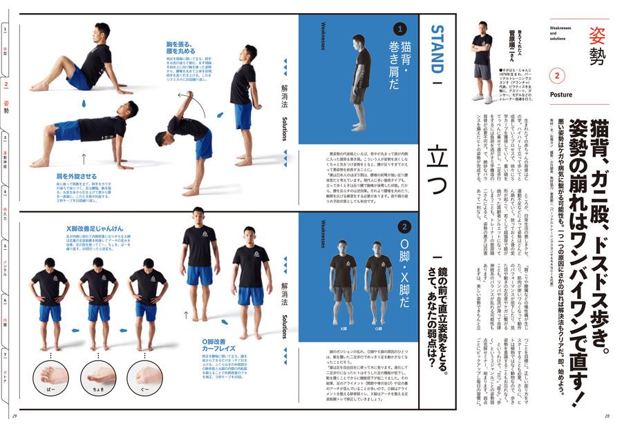 『ターザン』766号、「姿勢」企画のページ