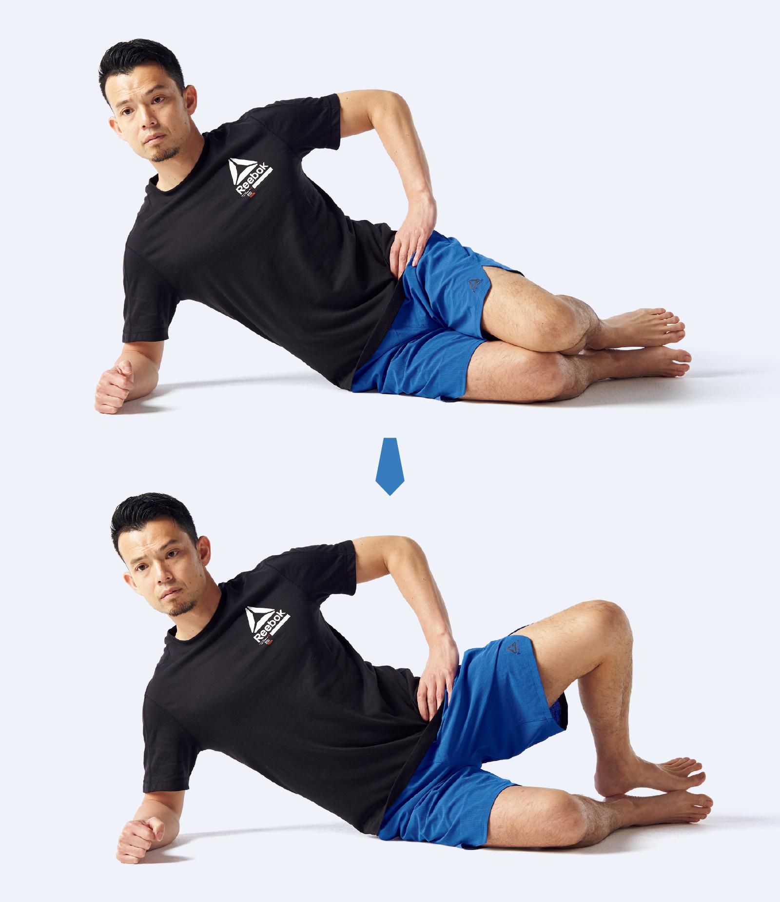 股関節を外旋