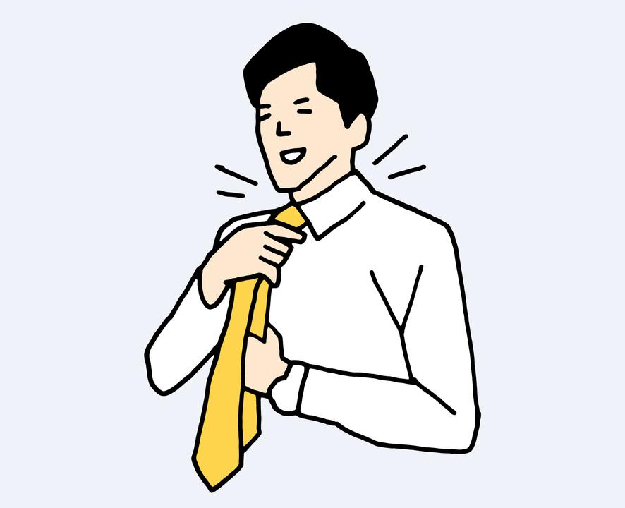ネクタイで温める!? 実は効果的なのだ