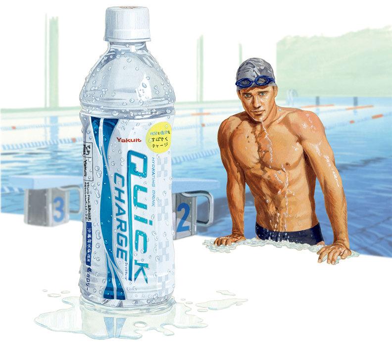 水泳などの有酸素運動の後に
