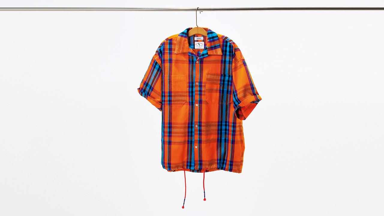 ワカミのグアテマラチェックシャツ