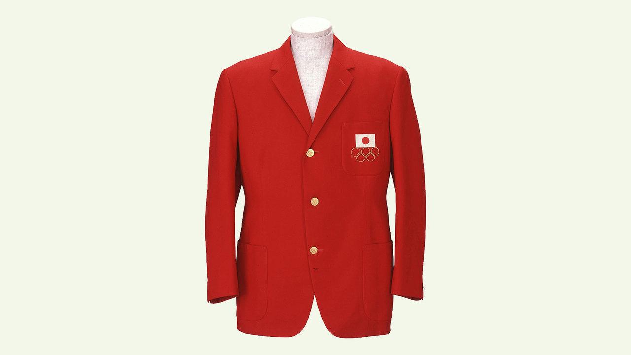 1964年の東京五輪用に作られた日本選手団の男性用ユニフォーム